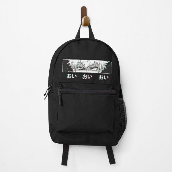 Bakugo 'Oi Oi Oi' BLACK Version Backpack RB0605 product Offical Anime Backpacks Merch