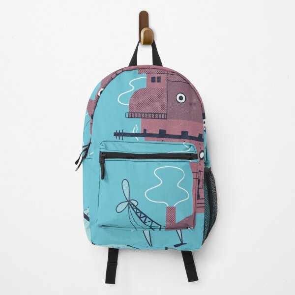 Moveable Castle Backpack RB0605 product Offical Anime Backpacks Merch