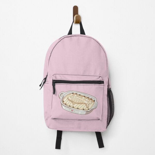 Kiki's Delivery Service Herring Pie (Pink background) Backpack RB0605 product Offical Anime Backpacks Merch