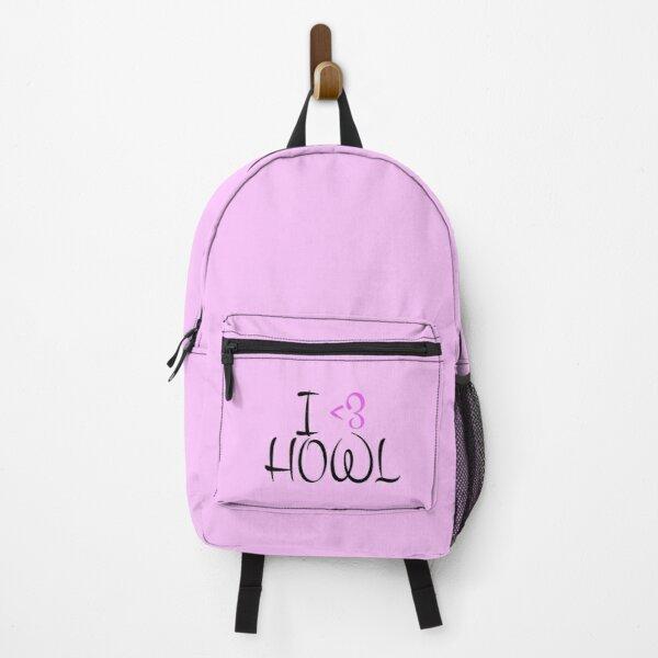 I Love Howl Backpack RB0605 product Offical Anime Backpacks Merch