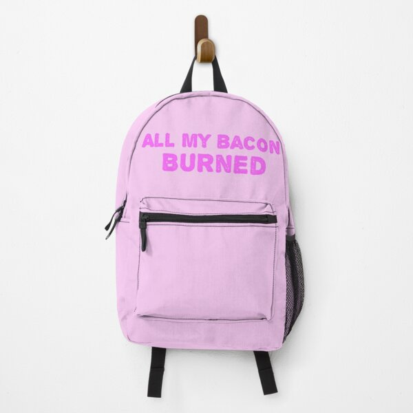 All My Bacon Burned - Calcifer  Backpack RB0605 product Offical Anime Backpacks Merch