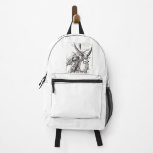 Princess Mononoke Studio Ghibli Hand Drawn Scene Design Backpack RB0605 product Offical Anime Backpacks Merch