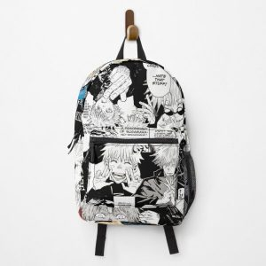 Gojo Satoru Jujutsu Kaisen Manga Collage Backpack RB0605 product Offical Anime Backpacks Merch