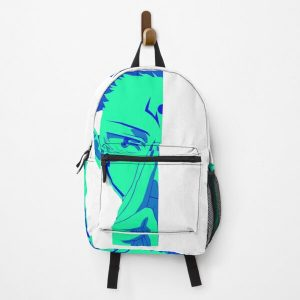 Blue face itadori Cursed demon - Funny jujutsu kaisen characters  Backpack RB0605 product Offical Anime Backpacks Merch