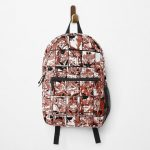 Endeavor - My hero academia collage Backpack RB0605 product Offical Anime Backpacks Merch