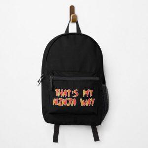 Ninja way Backpack RB0605 product Offical Anime Backpacks Merch
