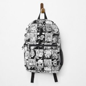 Shigaraki Collage black and white version Backpack RB0605 product Offical Anime Backpacks Merch