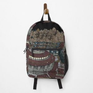 Konoha Night View Backpack RB0605 product Offical Anime Backpacks Merch