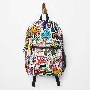 50 PCS Dragon Ball Anime Art Backpack RB0605 product Offical Anime Backpacks Merch