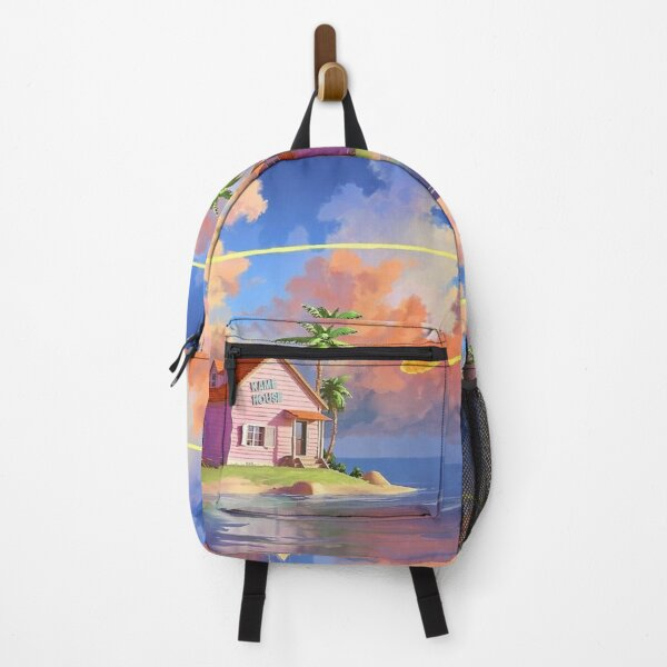 house in the beach Backpack RB0605 product Offical Anime Backpacks Merch