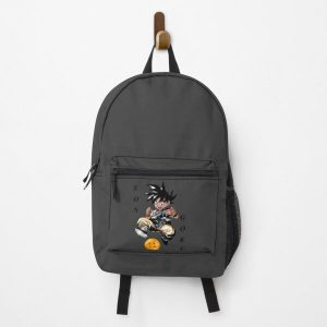Son Goku and the ball  |Gift shirt Backpack RB0605 product Offical Anime Backpacks Merch