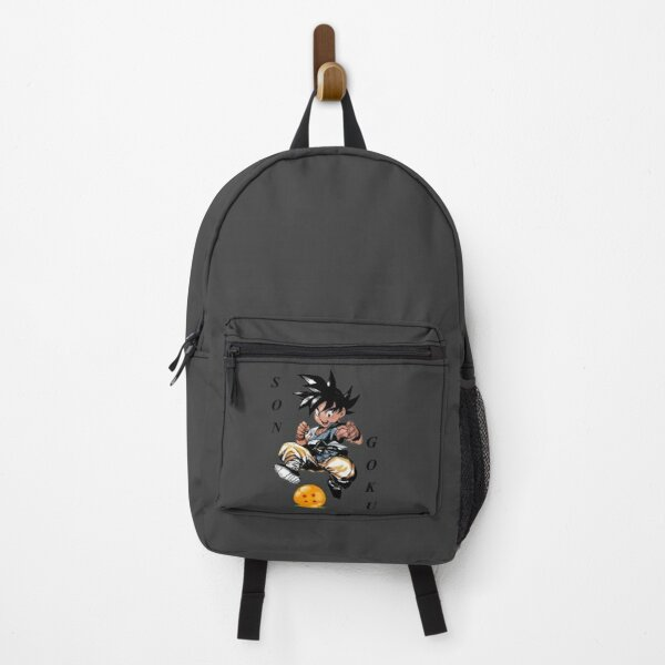 Son Goku and the ball   Gift shirt Backpack RB0605 product Offical Anime Backpacks Merch