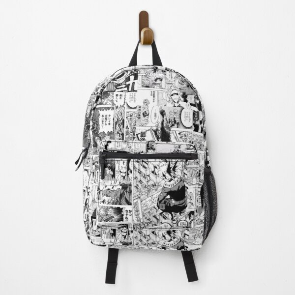 My hero academia Manga collage Backpack RB0605 product Offical Anime Backpacks Merch