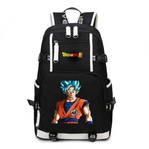 Dragon Ball Super Son Goku Super Saiyan Blue Backpack Bag