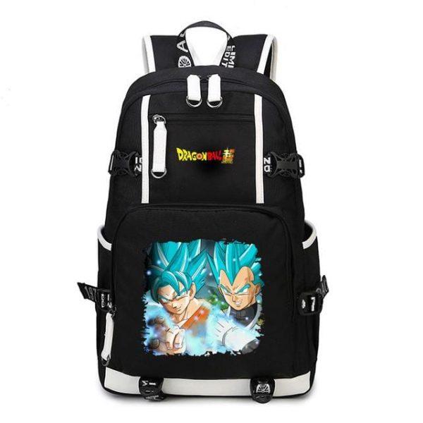 Dragon Ball Super SSGSS Son Goku And Vegeta Backpack