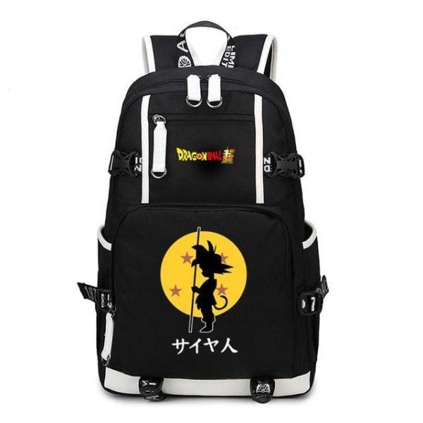 DBS Kid Goku Power Pole Four-Star Dragon Ball Backpack