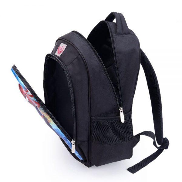16 Inch Anime Game Genshin Impact Children School Bag Orthopedic Backpack Student Boy Girl Mochila Infantil 3 - Anime Backpacks