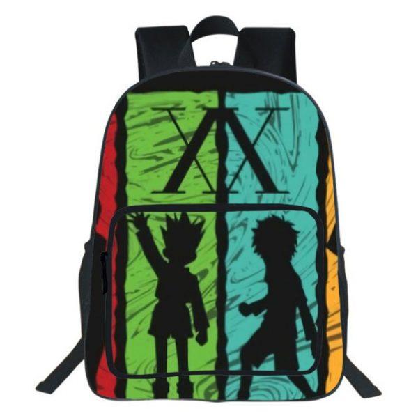 19 Inches Hunter X Hunter Backpack Japan Anime Printing Kids Fashion Simplicity Bookbag Student School Bag 20.jpg 640x640 20 - Anime Backpacks