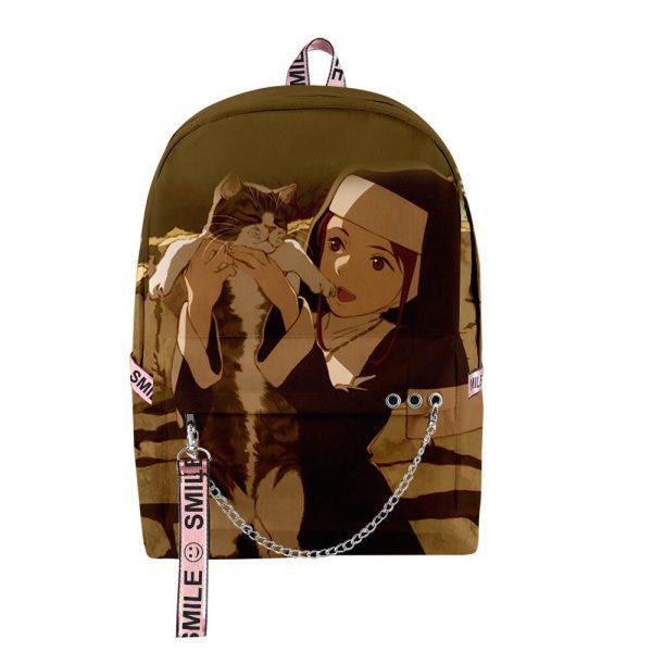 2020 New Casual Fire Force backpack Schoolbag Men Women Shoulder Travel Bag Print Hip Hop Teenage 3 - Anime Backpacks