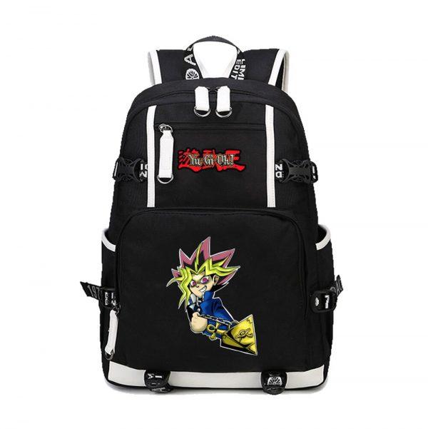 2020 New Japanese Anime Yu Gi Oh Backpack Cosplay Laptop Backpacks Unisex Student School Bookbag Travel 1 - Anime Backpacks