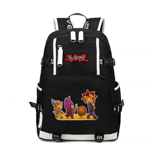 2020 New Japanese Anime Yu Gi Oh Backpack Cosplay Laptop Backpacks Unisex Student School Bookbag Travel 4 - Anime Backpacks