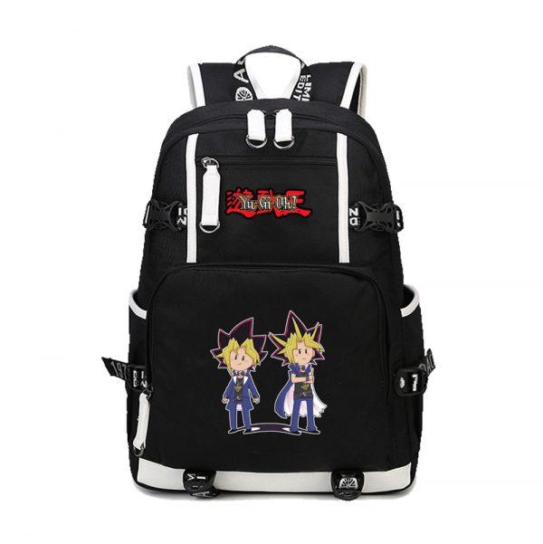 2020 New Japanese Anime Yu Gi Oh Backpack Cosplay Laptop Backpacks Unisex Student School Bookbag Travel - Anime Backpacks