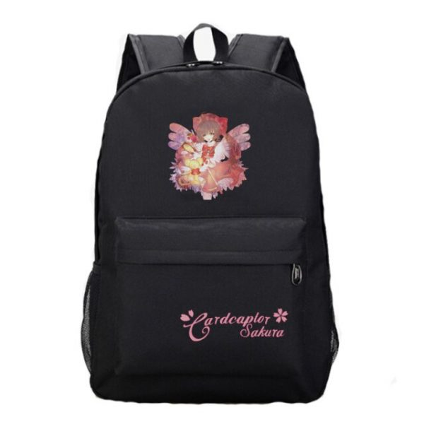 Anime Card Captor Sakura Backpack Boys Girls School Backpacks Men Women Laptop Bags Students Book Rucksack 15.jpg 640x640 15 - Anime Backpacks