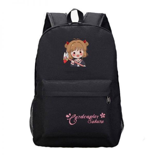 Anime Card Captor Sakura Backpack Boys Girls School Backpacks Men Women Laptop Bags Students Book Rucksack - Anime Backpacks