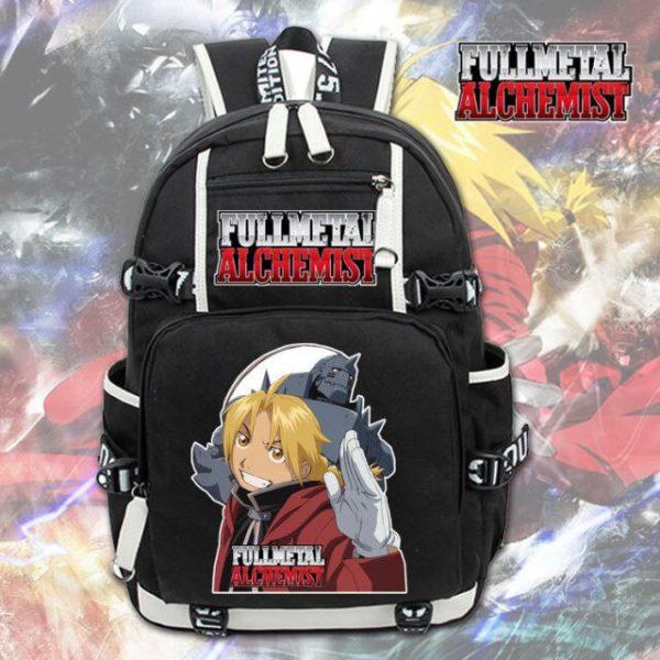 Anime Fullmetal Alchemist Backpack Knapsack Packsack Travel School Otaku Bags 1.jpg 640x640 1 - Anime Backpacks