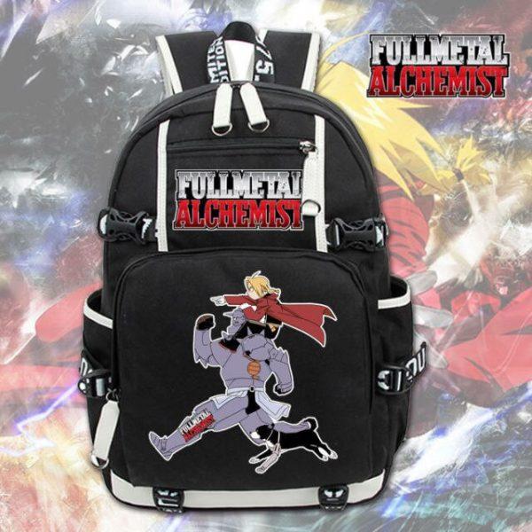 Anime Fullmetal Alchemist Backpack Knapsack Packsack Travel School Otaku Bags 3.jpg 640x640 3 - Anime Backpacks