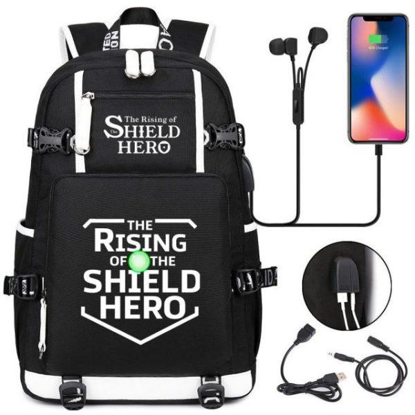 Anime The Rising Of The Shield Hero Backpack Laptop Travel Bag Bookbags for Students Adult Shoulder 2.jpg 640x640 2 - Anime Backpacks