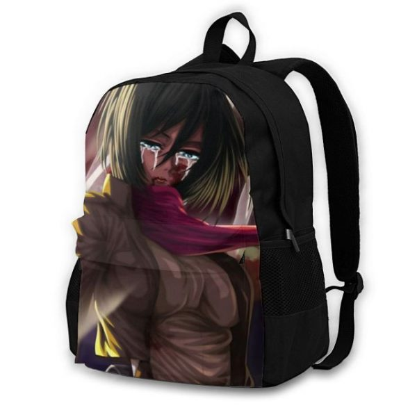 Attack On Titan Backpacks Polyester Workout Male Backpack Lightweight Aesthetic Bags 1.jpg 640x640 1 - Anime Backpacks