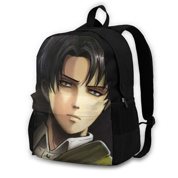 Attack On Titan Backpacks Polyester Workout Male Backpack Lightweight Aesthetic Bags 11.jpg 640x640 11 - Anime Backpacks