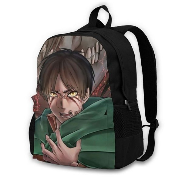 Attack On Titan Backpacks Polyester Workout Male Backpack Lightweight Aesthetic Bags 14.jpg 640x640 14 - Anime Backpacks