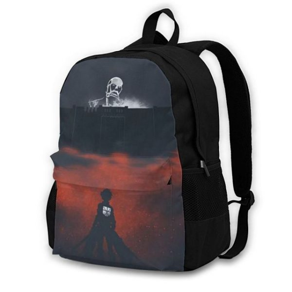 Attack On Titan Backpacks Polyester Workout Male Backpack Lightweight Aesthetic Bags 7.jpg 640x640 7 - Anime Backpacks