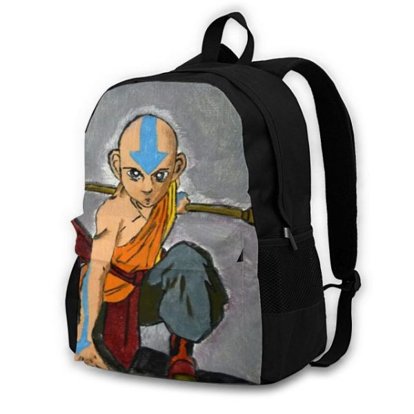 Avatar The Last Airbender Backpacks Polyester Picnic Teenage Backpack Breathable Funny Bags 1.jpg 640x640 1 - Anime Backpacks
