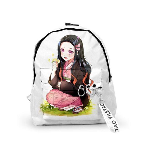 Backpack Demon Slayer Kimetsu no Yaiba Canvas Bag Tomioka Giyuu School Bags Girls Travel bag Mochila 5.jpg 640x640 5 - Anime Backpacks