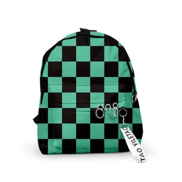 Backpack Demon Slayer Kimetsu no Yaiba Canvas Bag Tomioka Giyuu School Bags Girls Travel bag - Anime Backpacks
