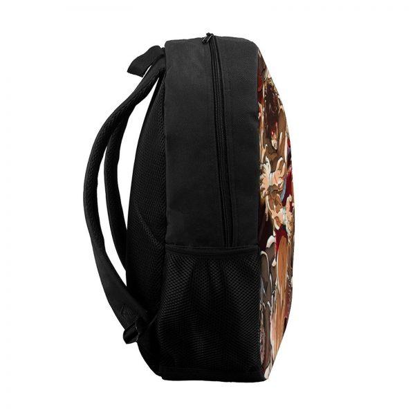 Baki Backpacks Tourist Soft Fun Backpack Polyester School Bags 2 - Anime Backpacks