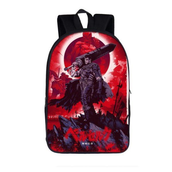 Berserk Japanese anime Backpack Women Men Travel Bags Children School Bags For Teenager Boys Girls Rucksack 1.jpg 640x640 1 - Anime Backpacks