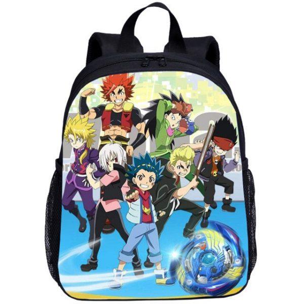 Beyblade Burst Anime Game Mini Backpacks Kids School Bag For Teenage Boys Children Bagpack Mochila Bookbag 4.jpg 640x640 4 - Anime Backpacks