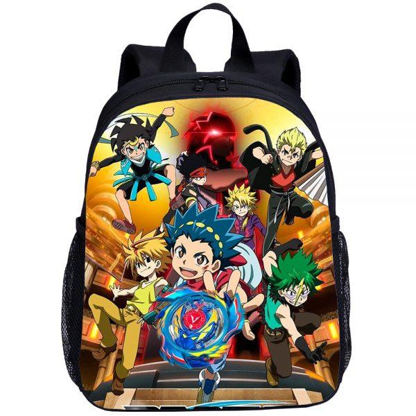 Beyblade Burst Anime Game Mini Backpacks Kids School Bag For Teenage Boys Children Bagpack Mochila Bookbag - Anime Backpacks