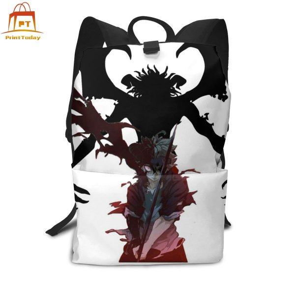 Black Clover Backpack Black Clover Backpacks High quality Trending Bag Man Woman Print Multifunctional Bags - Anime Backpacks