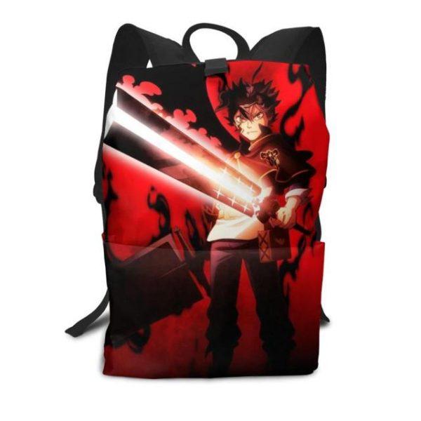 Black Clover Backpack Black Clover Backpacks High quality Trending Bag Man Woman Print Multifunctional - Anime Backpacks