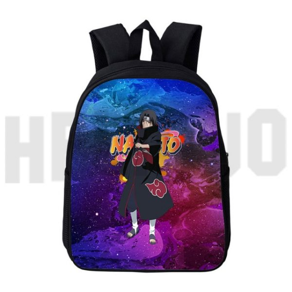 Casual Canvas Japan Anime 12 16inch Akatsuki Itachi Backbags Akatsuki Backpack Men 3D Print Schoolbag Zipper 16.jpg 640x640 16 - Anime Backpacks