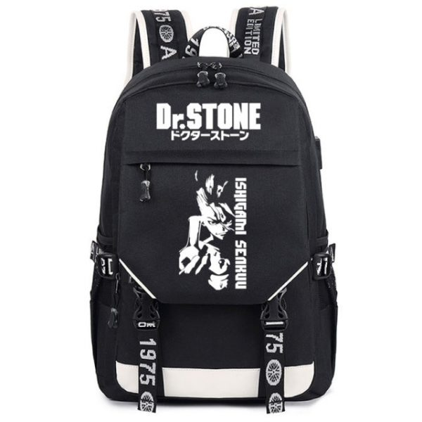 Cosplay Bag Dr STONE Role Ishigami Senkuu Student Schoolbag Anime Peripheral Backpack Travel Bag 3.jpg 640x640 3 - Anime Backpacks