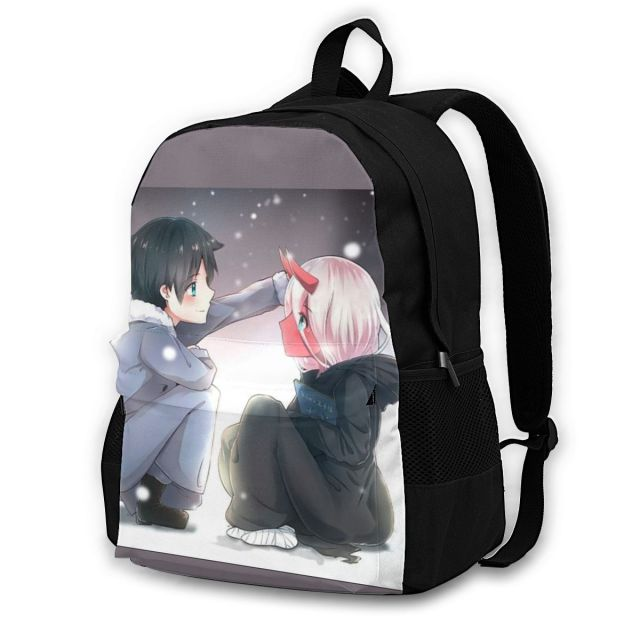 Darling In The Franxx Backpacks Festival Teen Big Backpack Elegant Polyester Bags 4.jpg 640x640 4 - Anime Backpacks