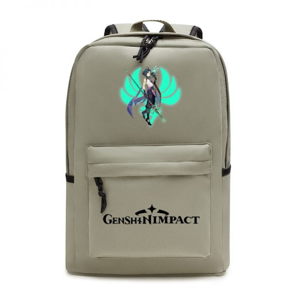 Genshin Impact Backpack Women School Shoulder Bag Satchel Teenager Laptop Backpack Men Anime Manga School Bags 1 - Anime Backpacks