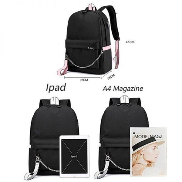 Genshin Impact Waterproof Backpack Children School Bags Kids Satchel Backpacks Primary School Backpack enfant 3 - Anime Backpacks