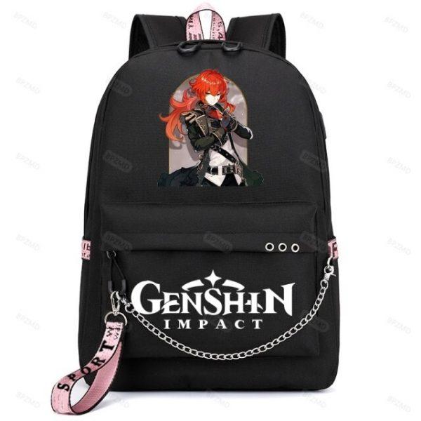 Genshin Impact Waterproof Backpack Children School Bags Kids Satchel Backpacks Primary School Backpack enfant 6.jpg 640x640 6 - Anime Backpacks